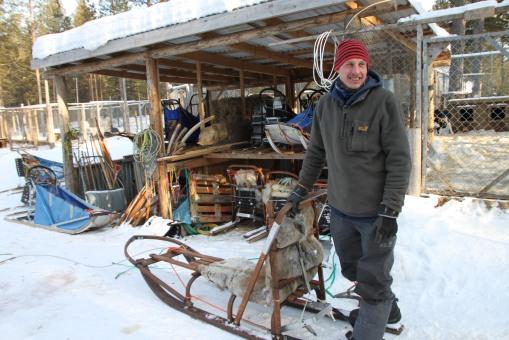 由比利時去 Kiruna 工作的 Levi