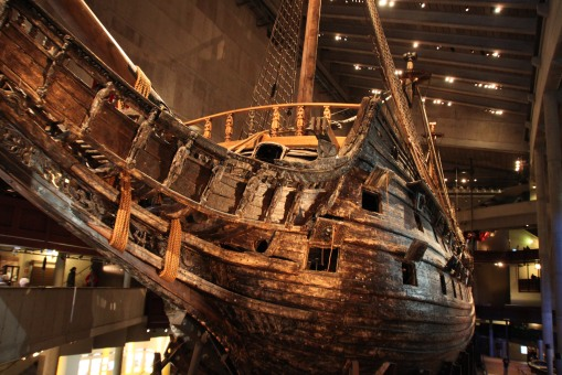 行兩公里就沉咗的 Vasa