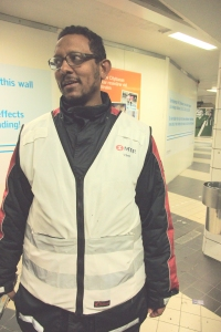 Stockholm 地鐵職員 --- 正面