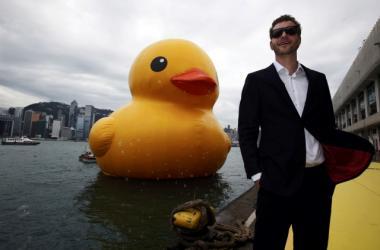 Florentijn Hofman & Rubber Duck @ Hong Kong