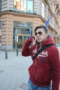 Helsinki 街頭仲見到 Nokia 的專門店