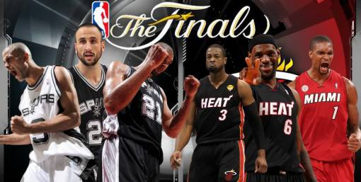 2013 NBA Finals --- Heat vs Spurs