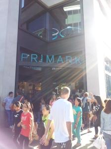 在 Oxford Street 的 Primark