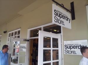 去 Bicester 的頭號目標:Superdry!