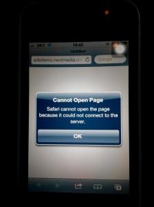 iPhone 接駁了隻 wifi 蛋的網絡上不到網!