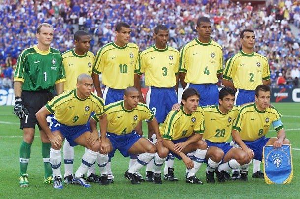98年世界盃巴西隊的黃金陣容