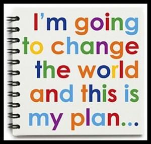 你可以改變世界?