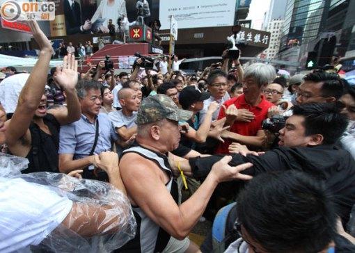 香港因為這次「佔中」運動被徹底分化了