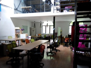 當日專門去參觀上海的 coworking space