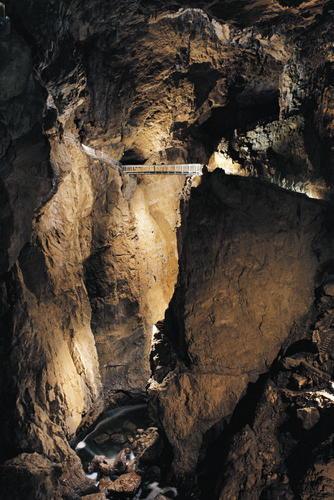 Šumeča jama