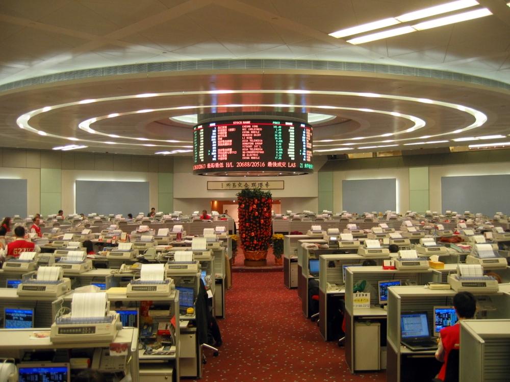 香港交易所 交易大堂