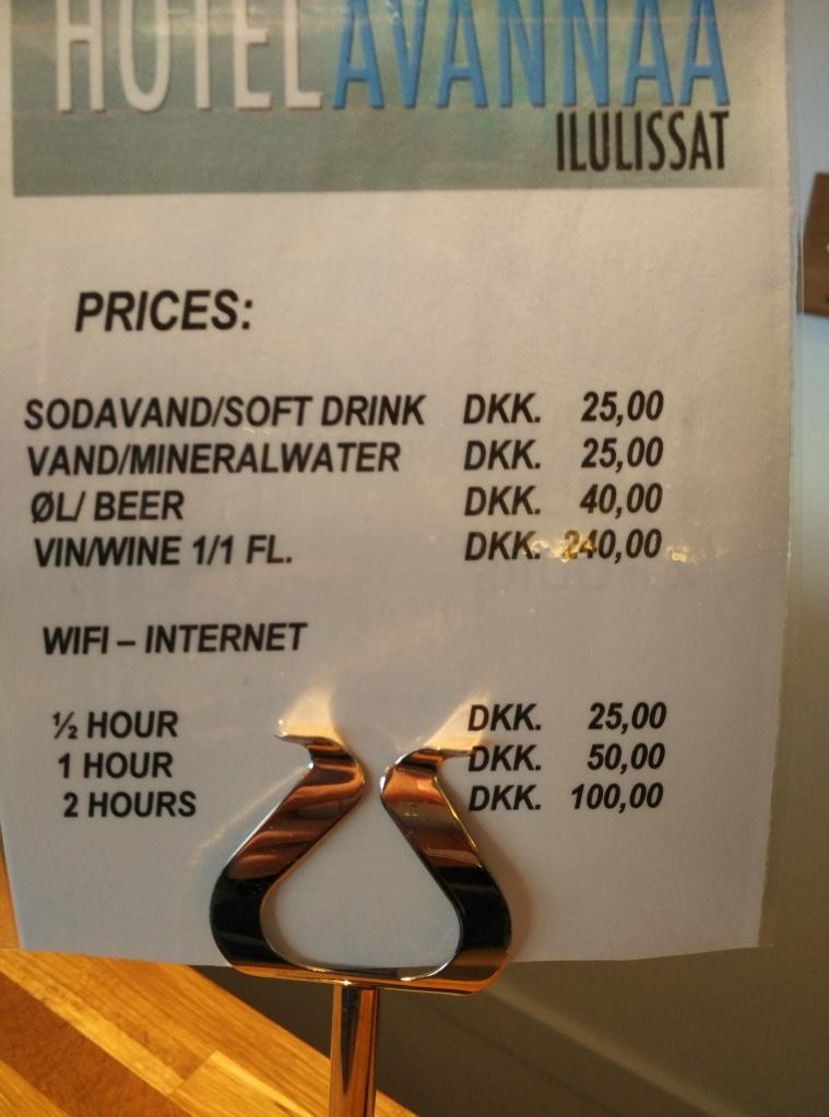 Greenland 是沒有免費的上網服務