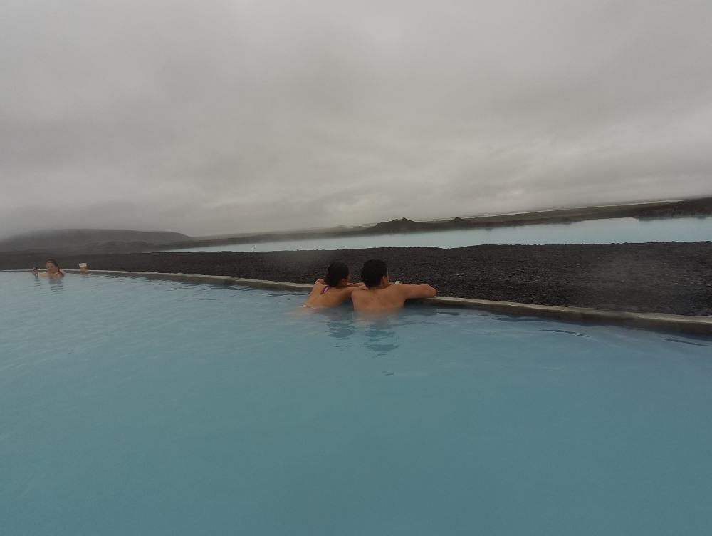 Infinity hot spring