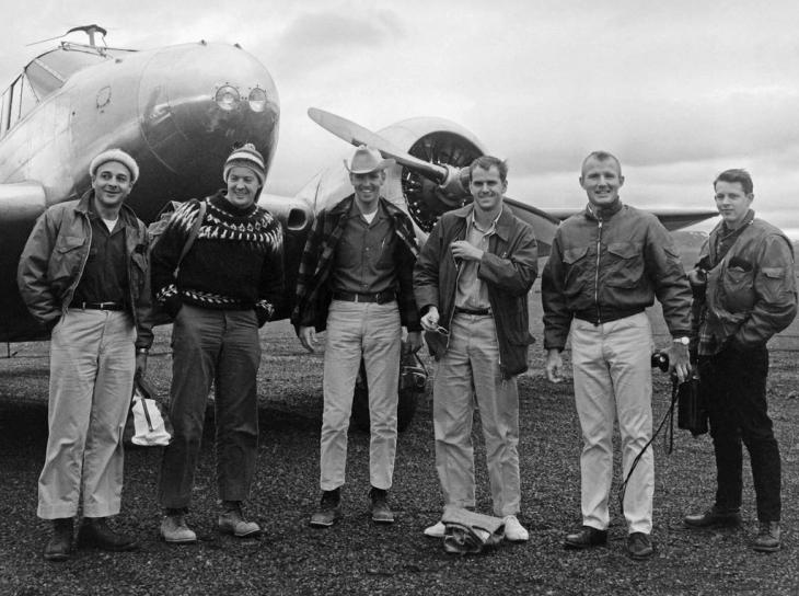 當年 Apollo 的太空人上太空前在冰島訓練