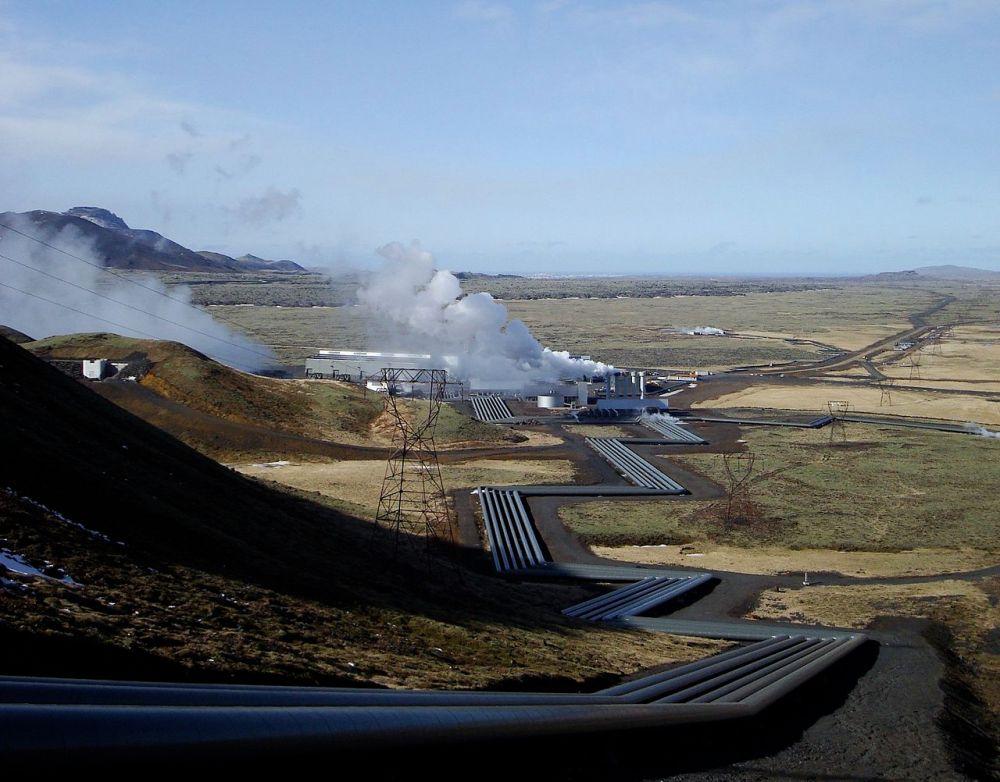 地熱是冰島其中一個主要發電來源