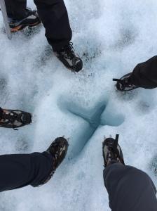 五隻雪鞋,準備出發!