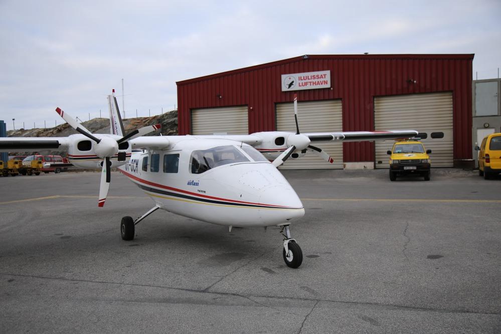 載我們這次飛越冰河的小型飛機