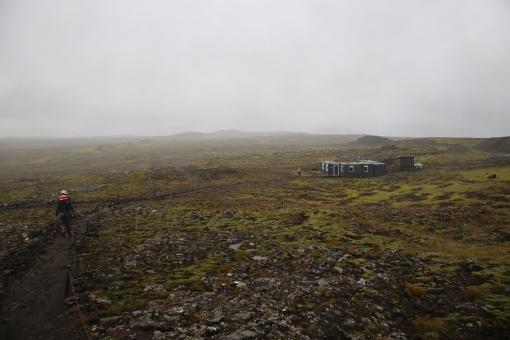 從山頂回望 base camp