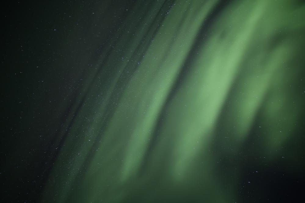 北極光呀!