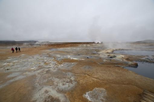 位於 Lake Myvatn 的地獄