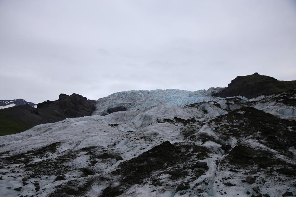 這次我們爬冰山的 Falljökull glacier