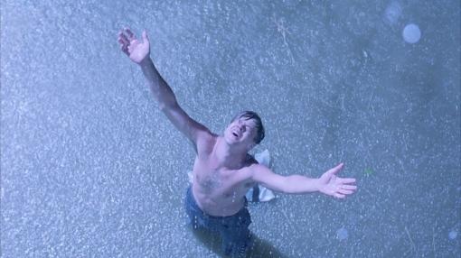 電影 Shawshank Redemption 中主角 Andy 重獲自由一幕