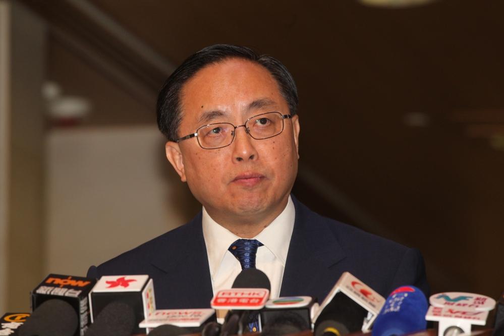 新任創新及科技局局長楊偉雄(何澤攝)