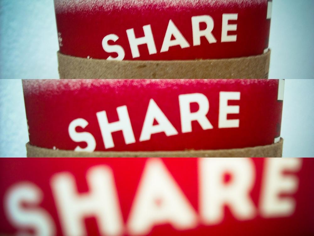 C!..., Share