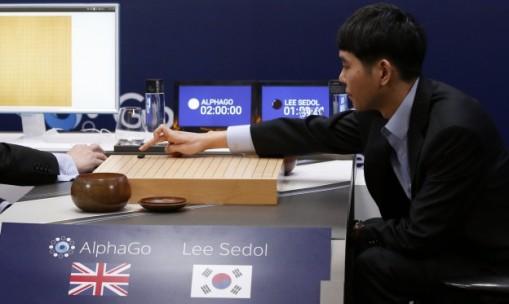 AlphaGo vs 李世乭