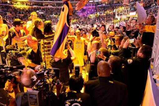 Kobe farewell game