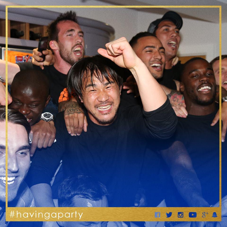 Leicester City wins the Premier League title!