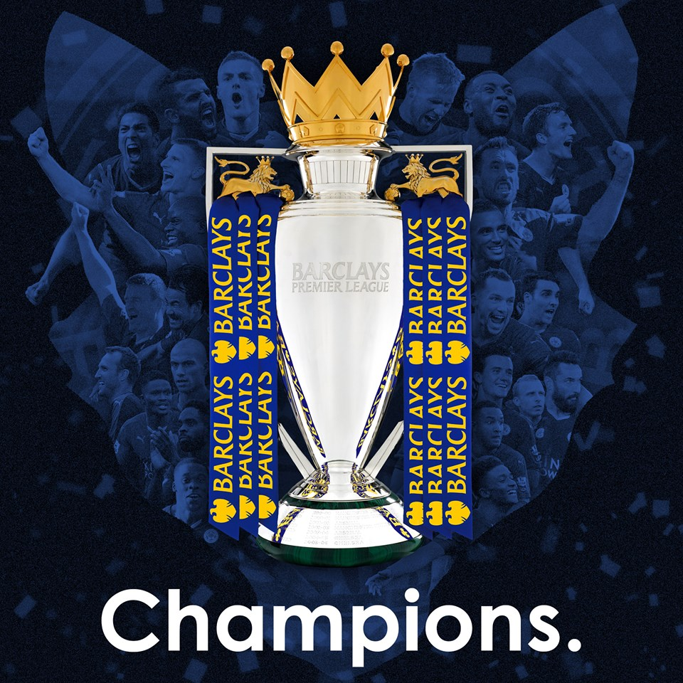 Leicester City wins the Premier League title!